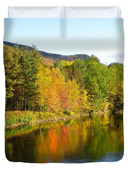 Painted Brook Duvet Cover