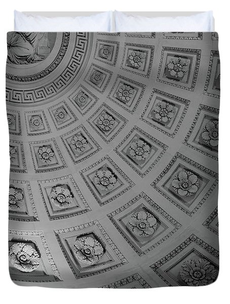 Pantheon Dome Duvet Cover by Sebastian Musial