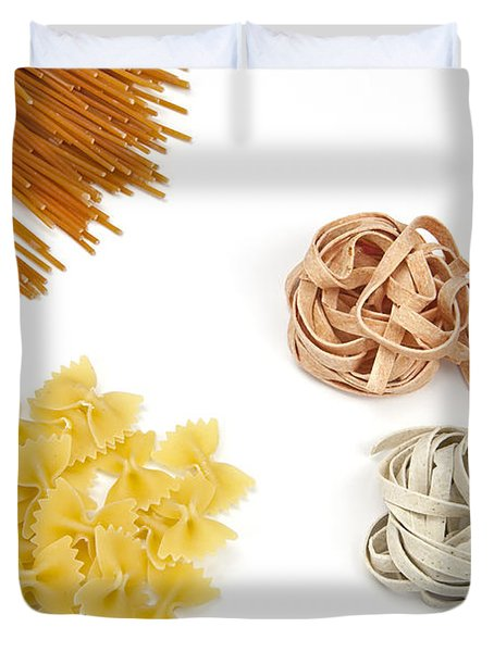 Pasta Duvet Cover by Joana Kruse