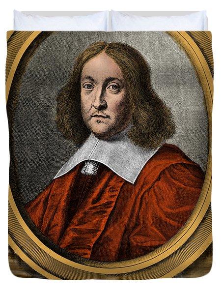 Pierre De Fermat, French Mathematician Duvet Cover by Photo Researchers, Inc.