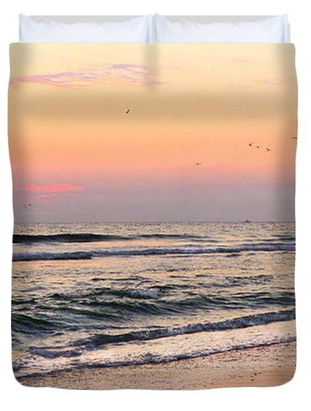 Postcard Duvet Cover