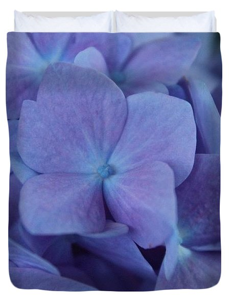 Purple And Blue Duvet Cover