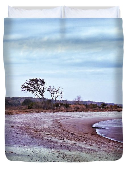 Quiet Cove  Duvet Cover by Phill Doherty