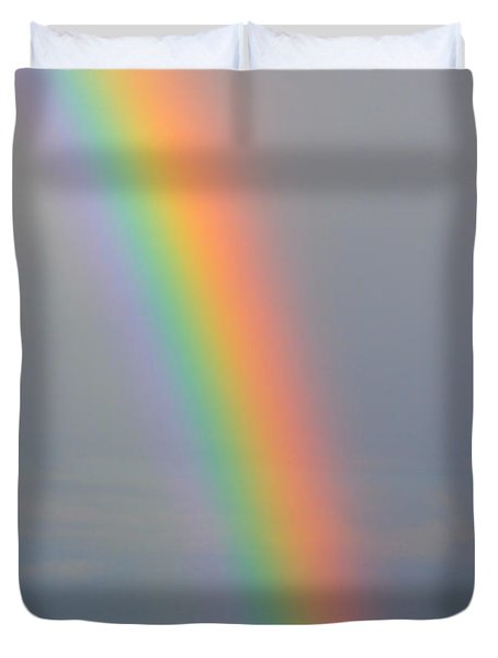 Rainbow Communications Duvet Cover by James BO  Insogna