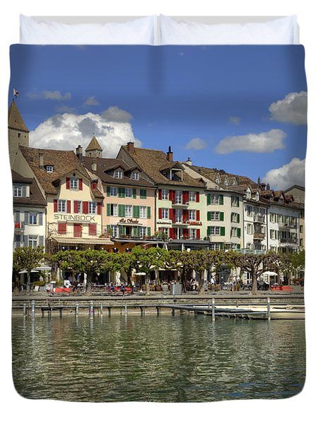 Rapperswil Duvet Cover by Joana Kruse