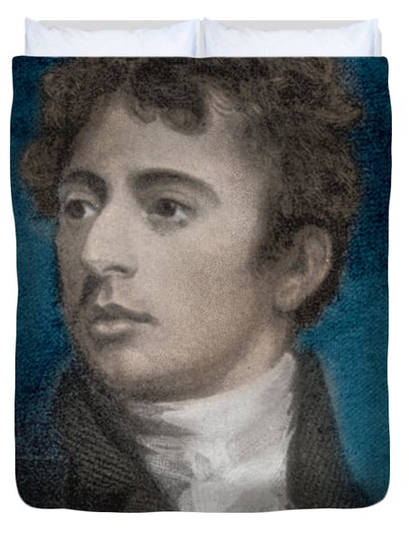 Robert Southey, English Poet Laureate Duvet Cover by Photo Researchers