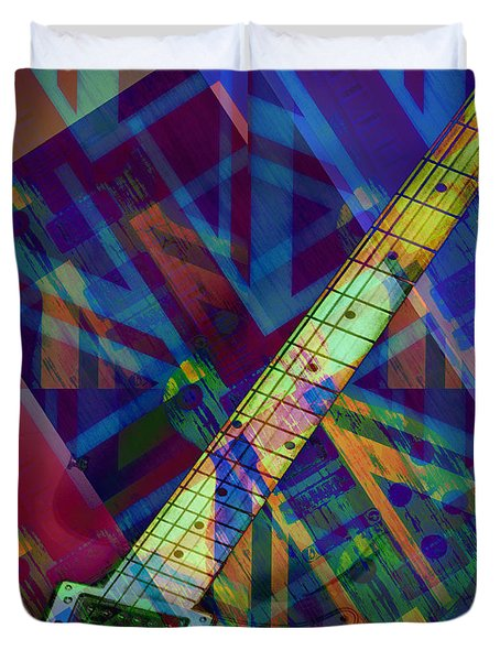 Rock And Roll Duvet Cover by Bill Cannon