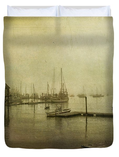 Rockland Harbor Duvet Cover