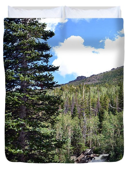 Rocky Mountain National Park2 Duvet Cover by Zawhaus Photography
