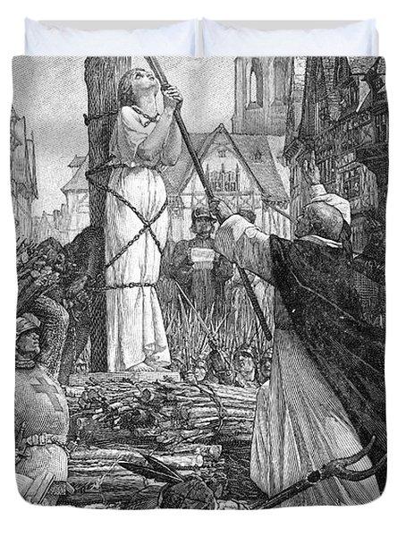 Saint Joan Of Arc Duvet Cover