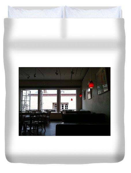 Santa Fe Eatery Duvet Cover