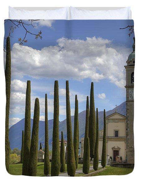 Sant'abbondio Duvet Cover by Joana Kruse