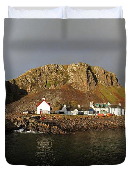 Seil Island Duvet Cover
