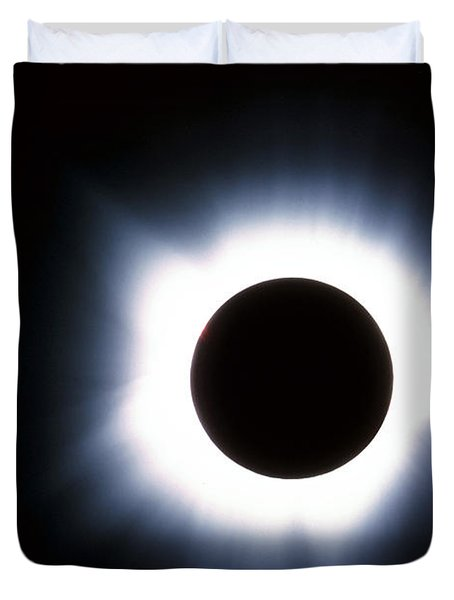 Solar Eclipse Duvet Cover by Stocktrek Images