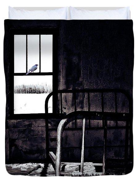Song Bird Duvet Cover by Jerry Cordeiro