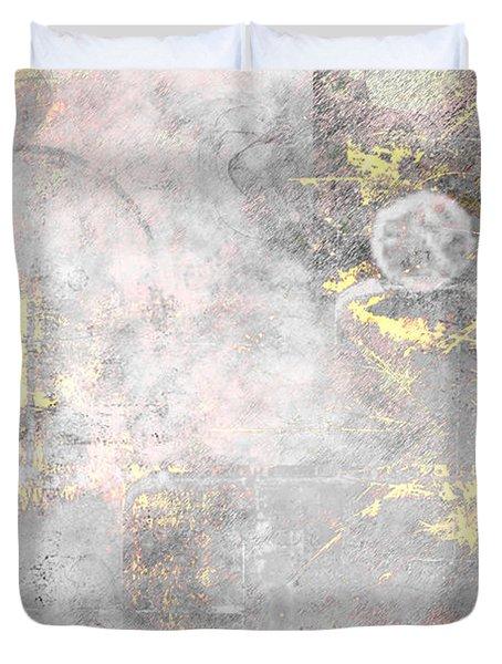 Starlight Mist Duvet Cover by Christopher Gaston