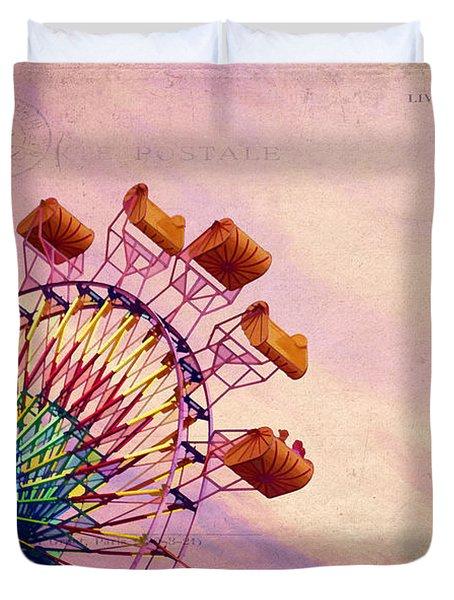 Summer Fun Duvet Cover by Darren Fisher