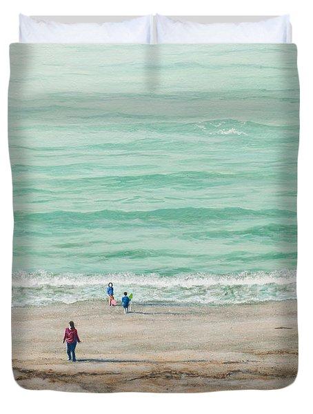 Summer Vacation Duvet Cover