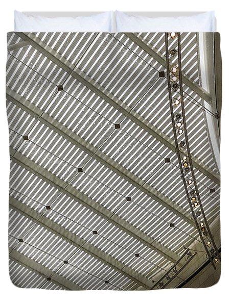 Telfair Sun Screen And Skylight Detail Duvet Cover by Lynn Palmer