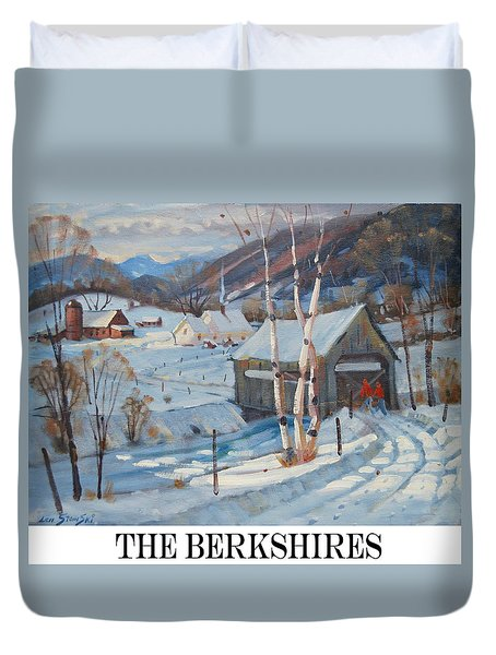the Berkshires Duvet Cover