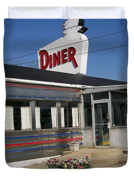 The Diner Duvet Cover