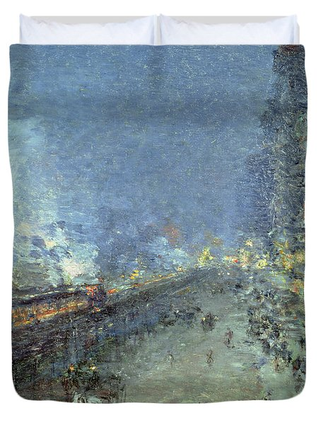 The El Duvet Cover by Childe Hassam
