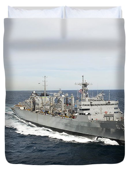 The Military Sealift Command Fast Duvet Cover by Stocktrek Images