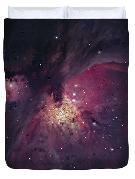 The Orion Nebula Duvet Cover by Robert Gendler