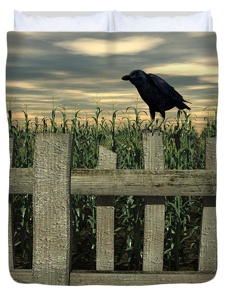 The Raven Duvet Cover