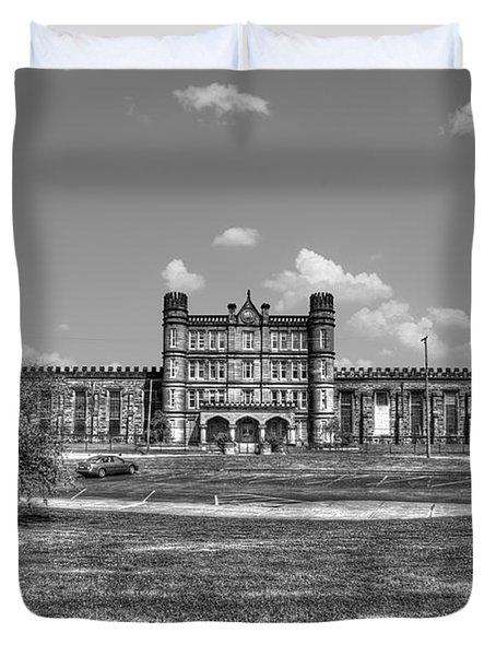 The West Virginia State Penitentiary Front Duvet Cover by Dan Friend