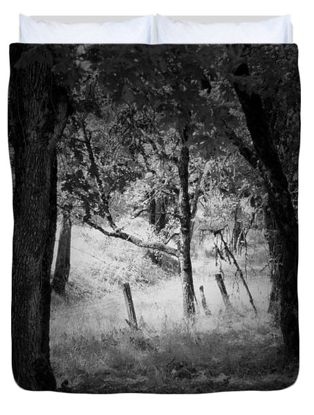 Through The Trees  Duvet Cover by Kathleen Grace
