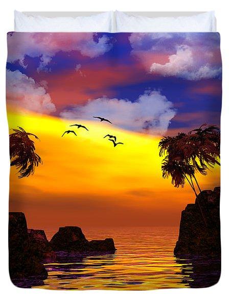 Trinidad Duvet Cover by Robert Orinski