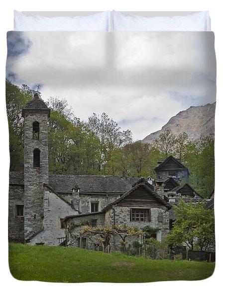 Valle Bavona - Ticino Duvet Cover by Joana Kruse