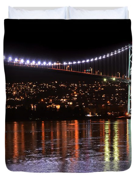 Vancouver British Columbia 5 Duvet Cover by Bob Christopher