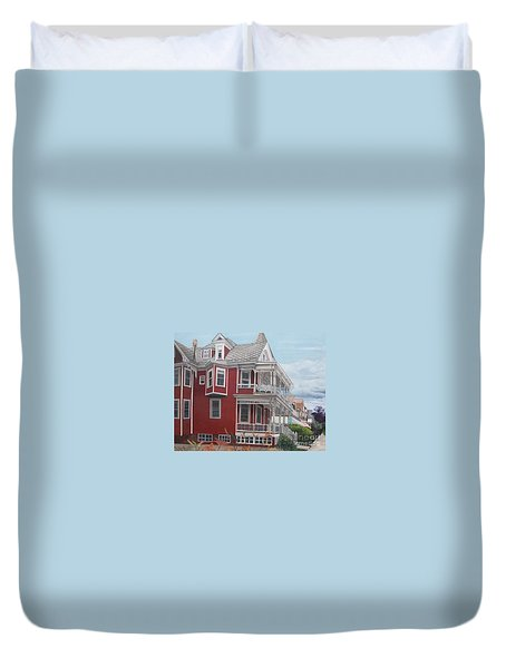 Victorian Afternoon Cape May Duvet Cover