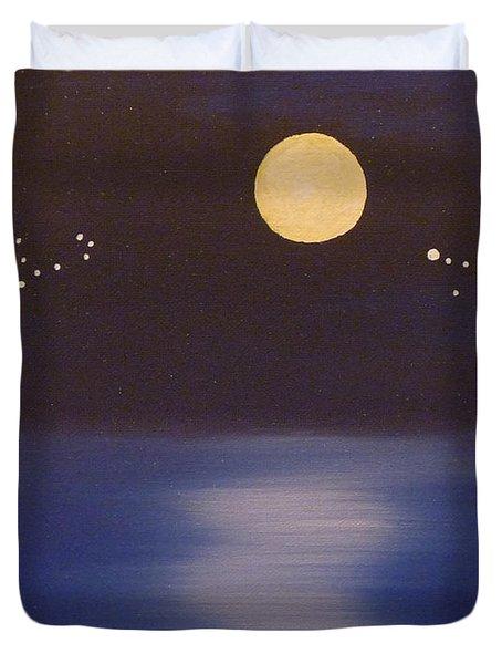 Virgo And Capricorn Duvet Cover by Alys Caviness-Gober