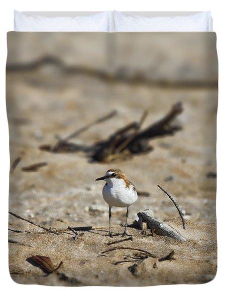 Wading Bird Duvet Cover by Douglas Barnard