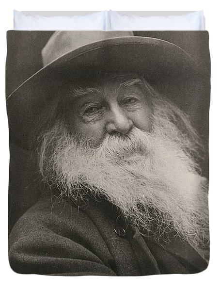 Walt Whitman Duvet Cover
