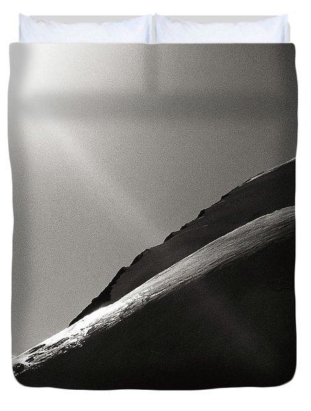 Western Plateau Duvet Cover by Konstantin Dikovsky