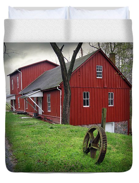 Williston Mill Duvet Cover by Brian Wallace