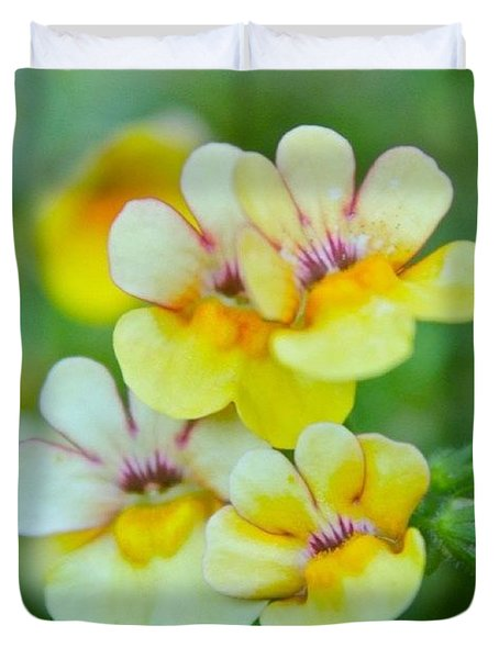 Little Flowers Duvet Cover