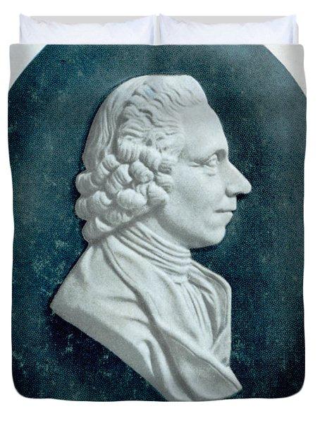 Joseph Priestley, English Chemist Duvet Cover