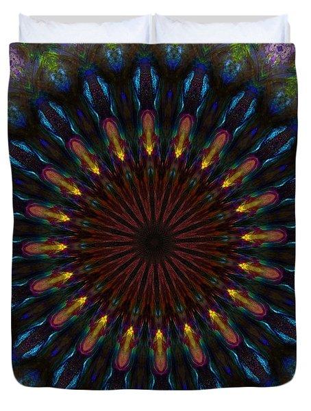 10 Minute Art 120611a Duvet Cover by David Lane