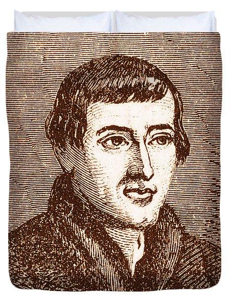 Nicolaus Copernicus, Polish Astronomer Duvet Cover