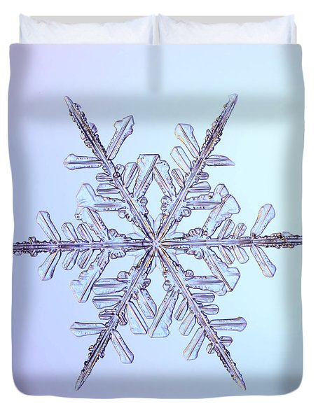 Snowflake Duvet Cover by Ted Kinsman