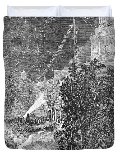 Centennial Fair, 1876 Duvet Cover by Granger
