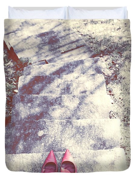 Pumps Duvet Cover by Joana Kruse