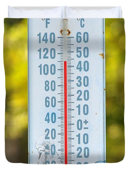 110 Degrees In The Shade Duvet Cover by Al Powell Photography USA