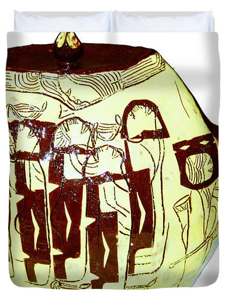 Wise Virgins Duvet Cover by Gloria Ssali