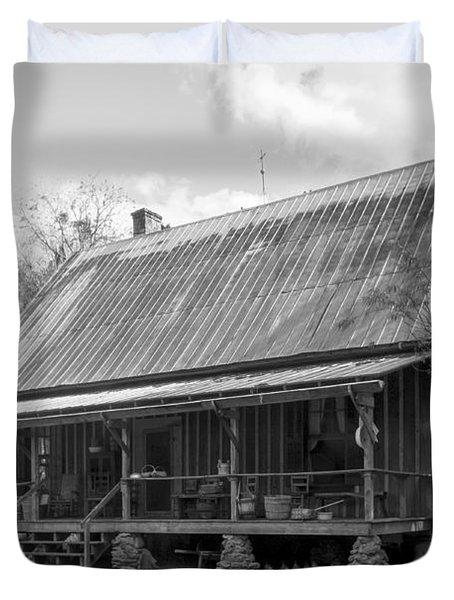 1850's Florida Cracker Farmhouse Duvet Cover by Lynn Palmer